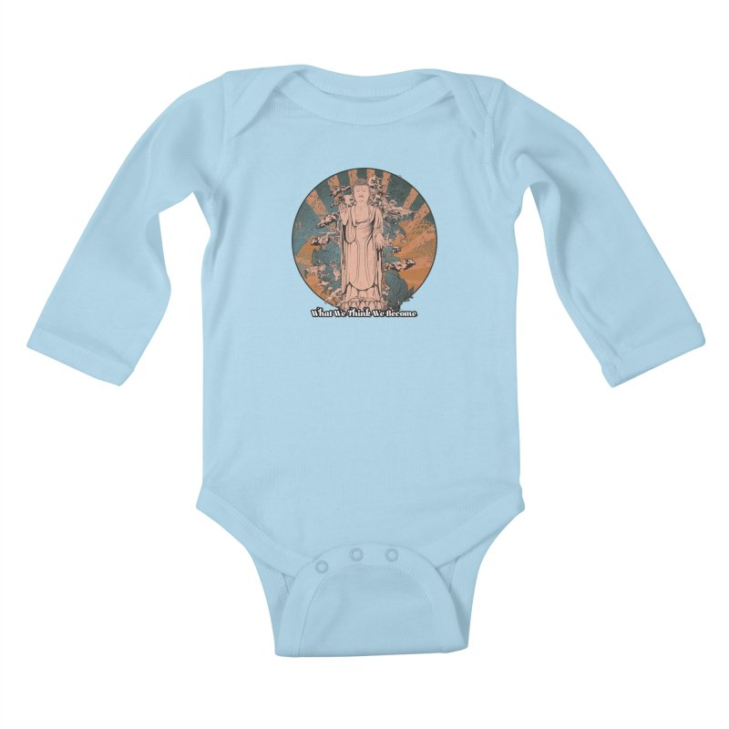 Become Kids Baby Longsleeve Bodysuit by The Daily Buddha Artist Shop