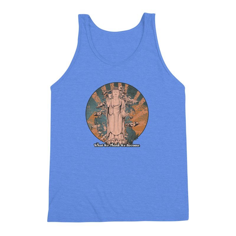 Become Men's Triblend Tank by The Daily Buddha Artist Shop