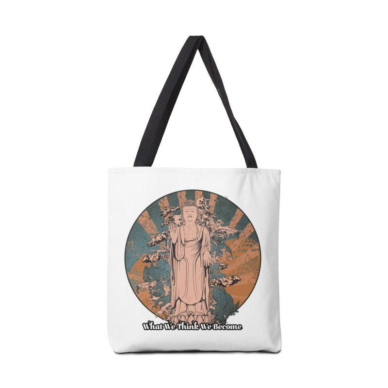 Become Accessories Tote Bag Bag by The Daily Buddha Artist Shop