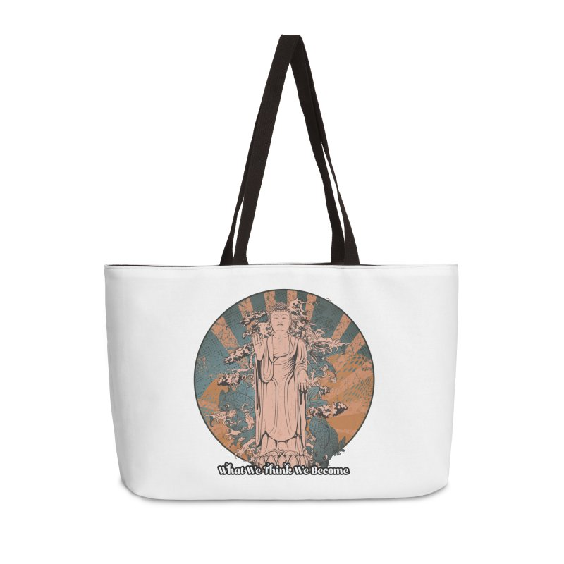 Become Accessories Weekender Bag Bag by The Daily Buddha Artist Shop