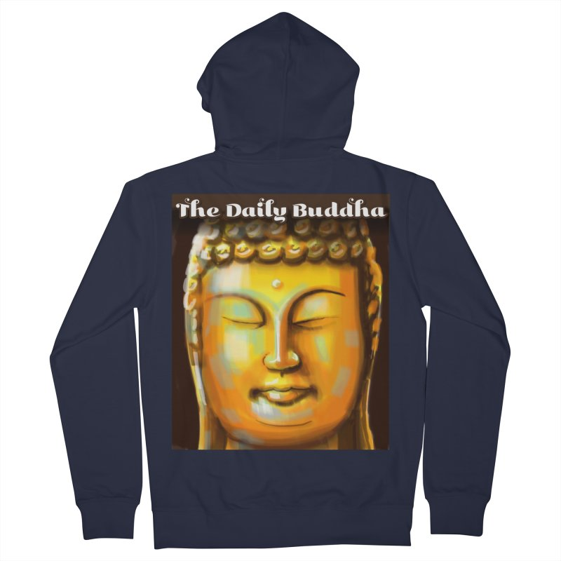 The Daily Buddha- Color Women's French Terry Zip-Up Hoody by The Daily Buddha Artist Shop