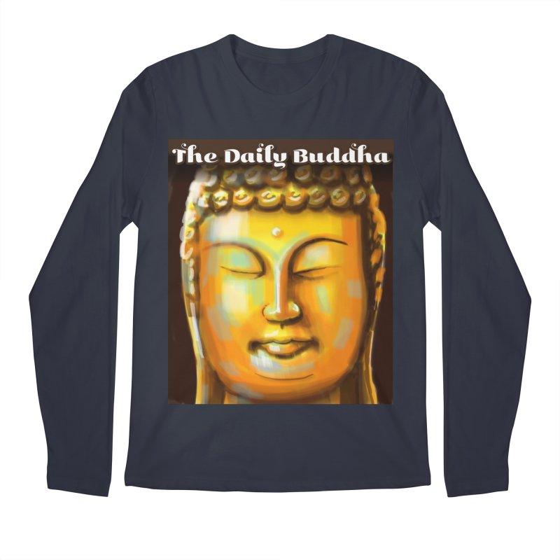 The Daily Buddha- Color Men's Regular Longsleeve T-Shirt by The Daily Buddha Artist Shop