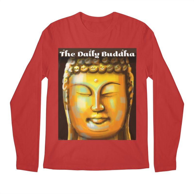 The Daily Buddha- Color Men's Regular Longsleeve T-Shirt by The Daily Buddha Artist Shop