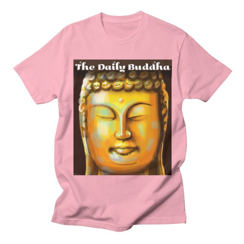 The Daily Buddha- Color Men's Regular T-Shirt by The Daily Buddha Artist Shop