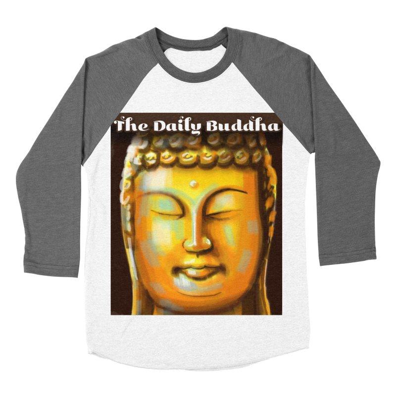 The Daily Buddha- Color Men's Baseball Triblend Longsleeve T-Shirt by The Daily Buddha Artist Shop