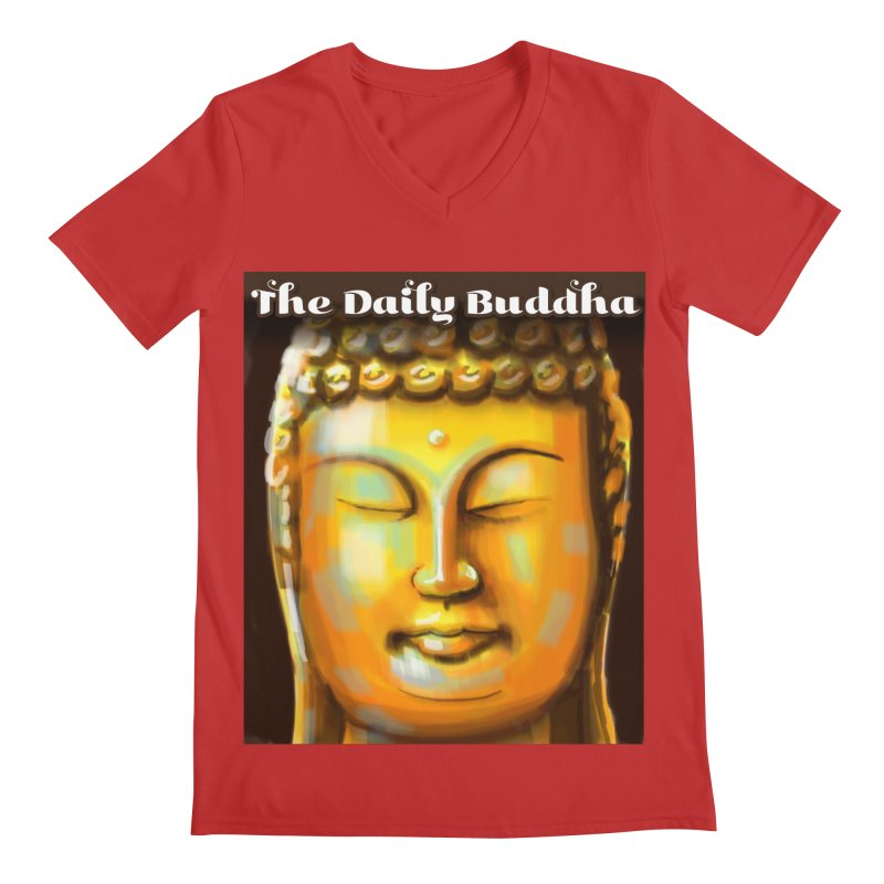 The Daily Buddha- Color Men's Regular V-Neck by The Daily Buddha Artist Shop