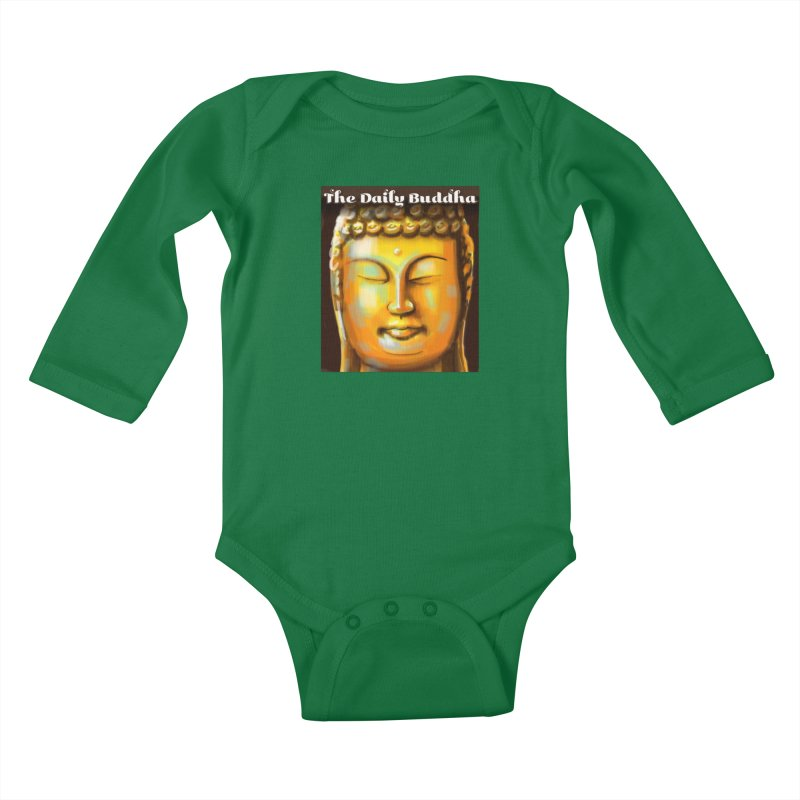 The Daily Buddha- Color Kids Baby Longsleeve Bodysuit by The Daily Buddha Artist Shop