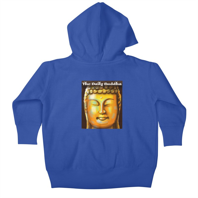 The Daily Buddha- Color Kids Baby Zip-Up Hoody by The Daily Buddha Artist Shop