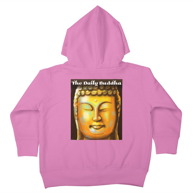The Daily Buddha- Color Kids Toddler Zip-Up Hoody by The Daily Buddha Artist Shop
