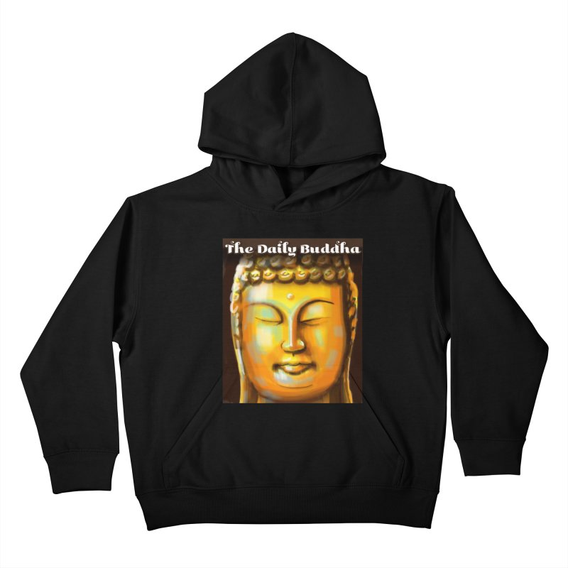The Daily Buddha- Color Kids Pullover Hoody by The Daily Buddha Artist Shop