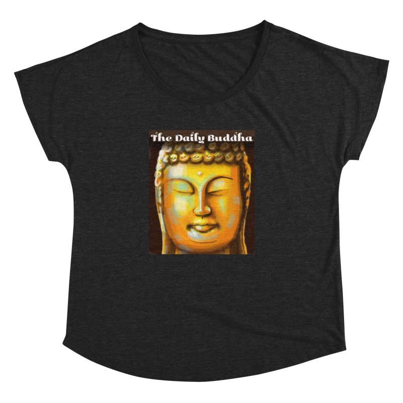 The Daily Buddha- Color Women's Dolman Scoop Neck by The Daily Buddha Artist Shop