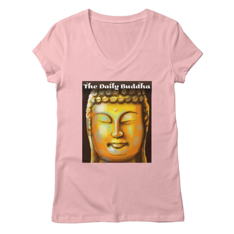 The Daily Buddha- Color Women's Regular V-Neck by The Daily Buddha Artist Shop