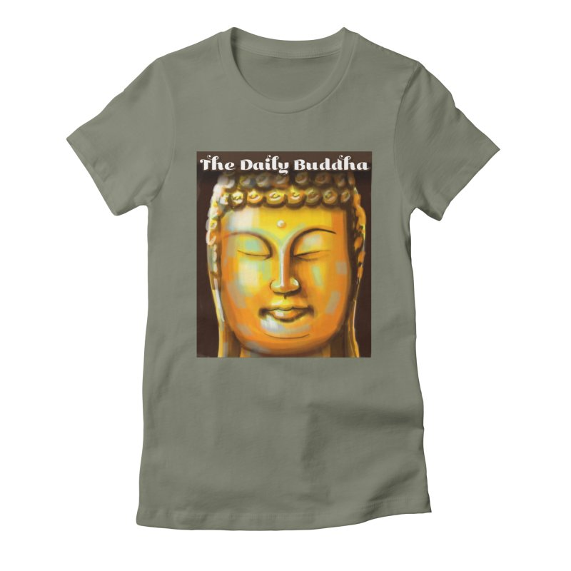 The Daily Buddha- Color Women's Fitted T-Shirt by The Daily Buddha Artist Shop