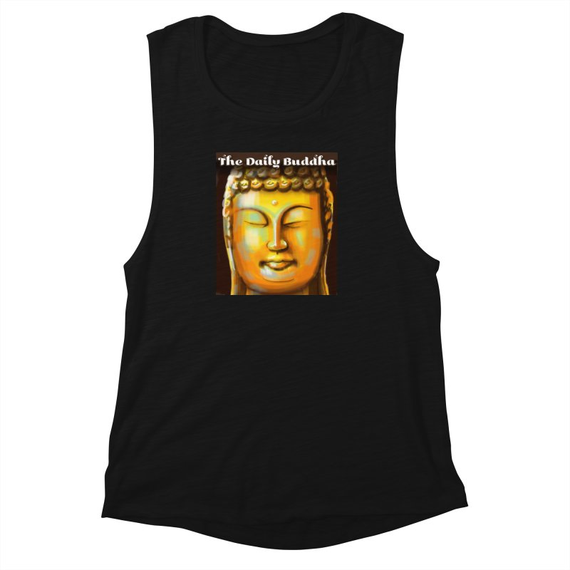 The Daily Buddha- Color Women's Muscle Tank by The Daily Buddha Artist Shop