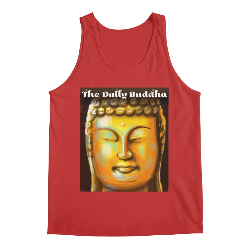 The Daily Buddha- Color Men's Regular Tank by The Daily Buddha Artist Shop