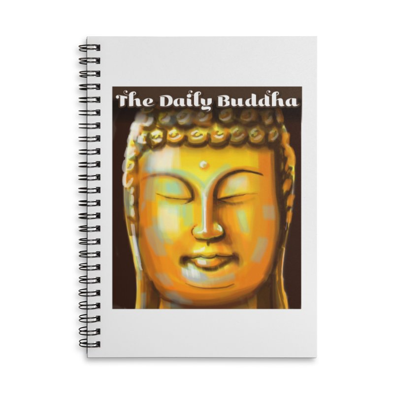 The Daily Buddha- Color Accessories Lined Spiral Notebook by The Daily Buddha Artist Shop