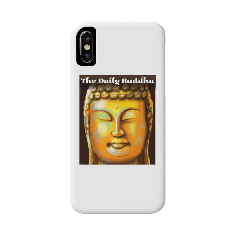 The Daily Buddha- Color Accessories Phone Case by The Daily Buddha Artist Shop