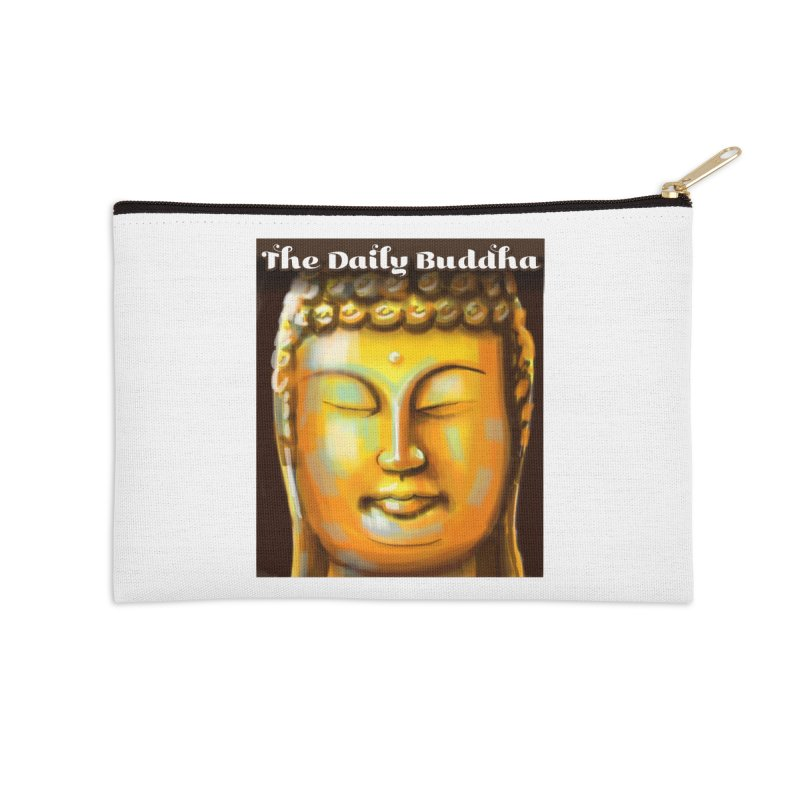 The Daily Buddha- Color Accessories Zip Pouch by The Daily Buddha Artist Shop