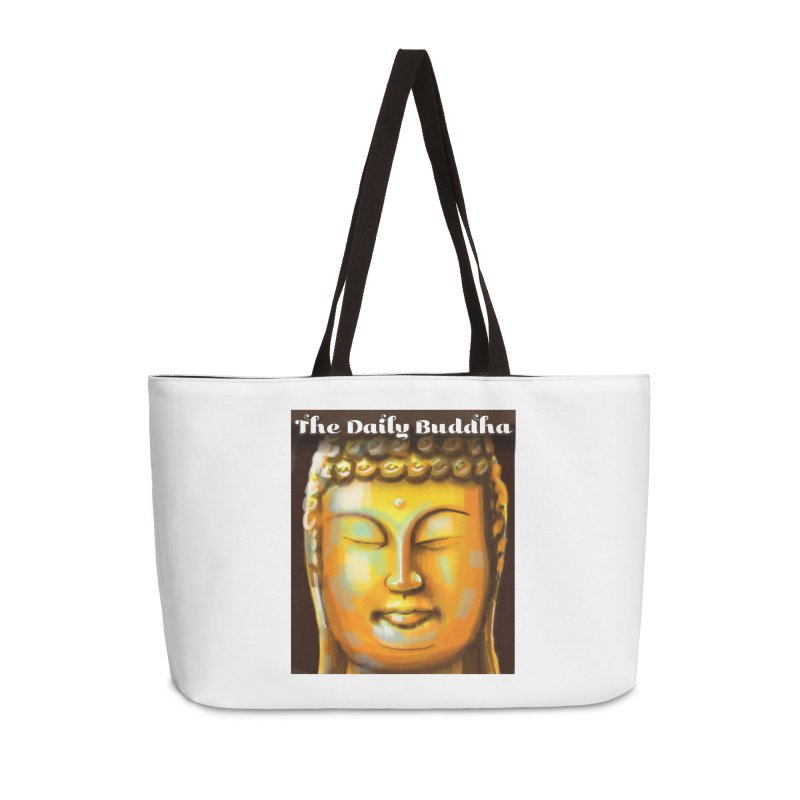 The Daily Buddha- Color Accessories Weekender Bag Bag by The Daily Buddha Artist Shop