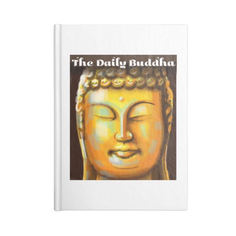The Daily Buddha- Color Accessories Lined Journal Notebook by The Daily Buddha Artist Shop