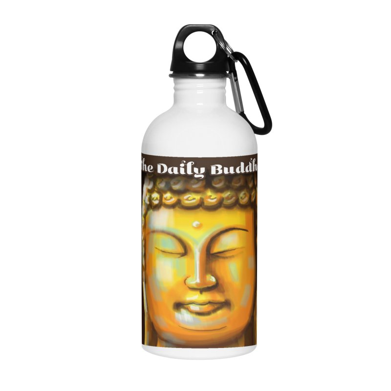 The Daily Buddha- Color Accessories Water Bottle by The Daily Buddha Artist Shop