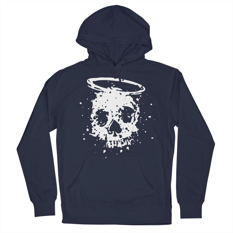 The Angel And The Gambler Men's French Terry Pullover Hoody by The Daily Pick