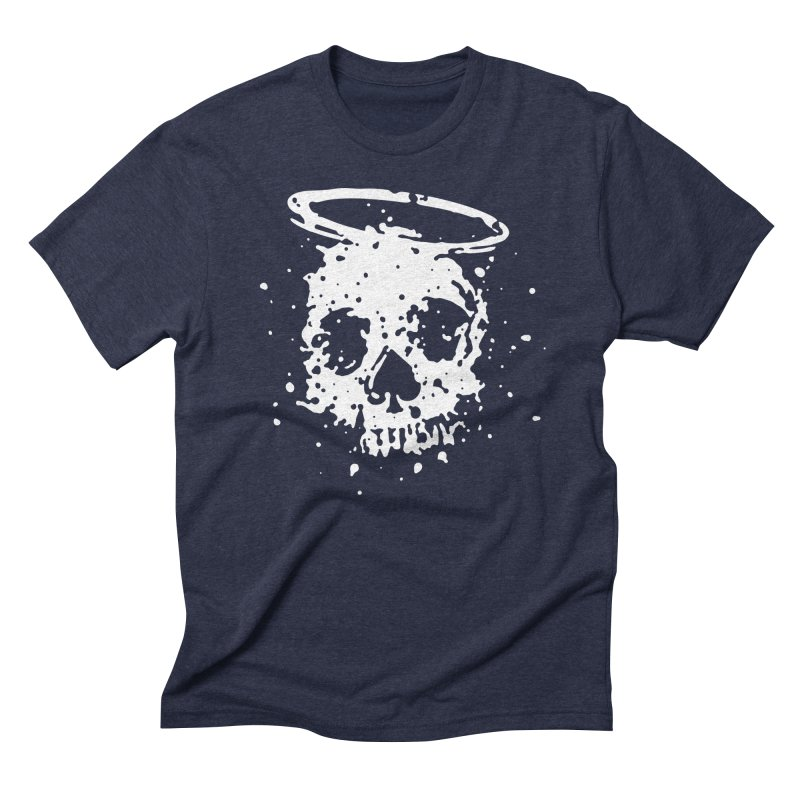The Angel And The Gambler Men's Triblend T-Shirt by The Daily Pick