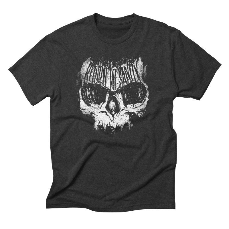 Return To Sanity in Men's Triblend T-Shirt Heather Onyx by The Daily Pick