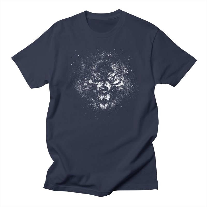 Big Bad Wolf Men's Regular T-Shirt by The Daily Pick