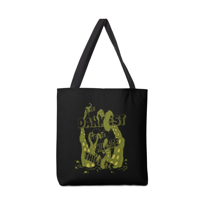 Tentacle Logo Accessories Tote Bag Bag by The Darkest of the Hillside Thickets Merchporium
