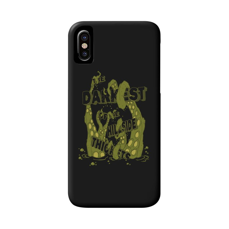 Tentacle Logo Accessories Phone Case by The Darkest of the Hillside Thickets Merchporium