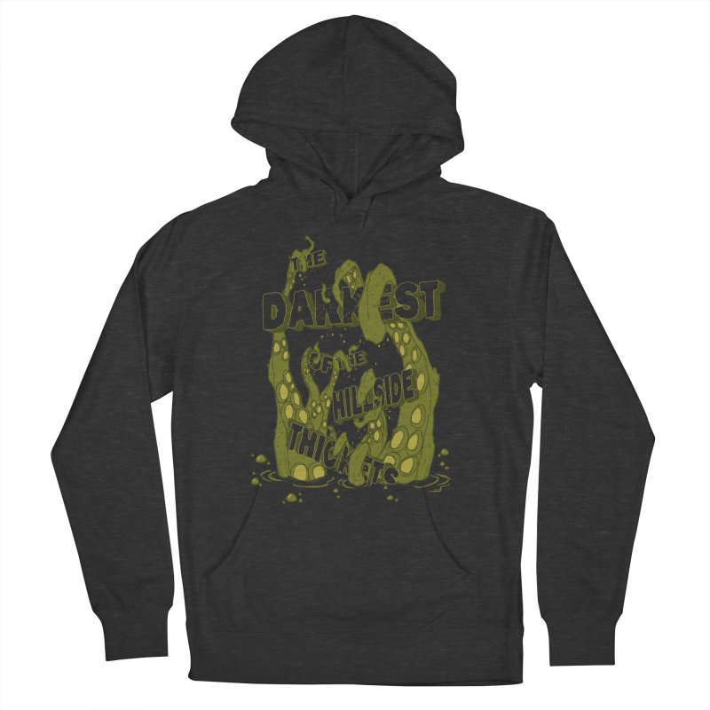 Tentacle Logo Women's French Terry Pullover Hoody by The Darkest of the Hillside Thickets Merchporium