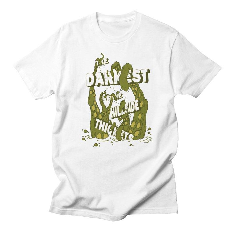 Tentacle Logo Men's Regular T-Shirt by The Darkest of the Hillside Thickets Merchporium