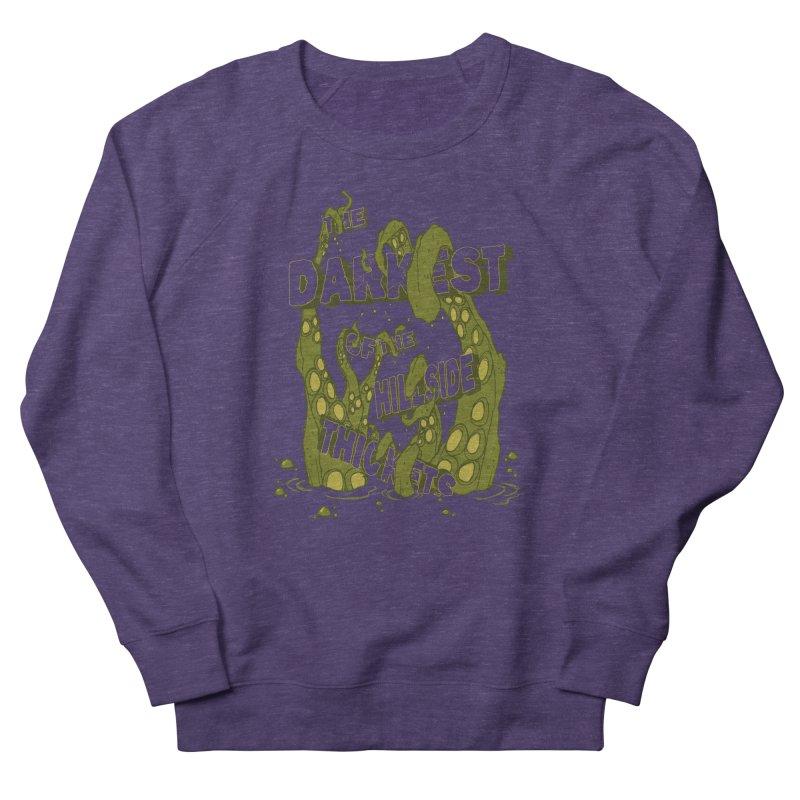 Tentacle Logo Women's French Terry Sweatshirt by The Darkest of the Hillside Thickets Merchporium