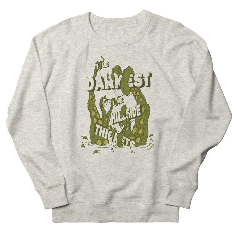 Tentacle Logo Women's French Terry Sweatshirt by The Darkest of the Hillside Thickets Merchporium