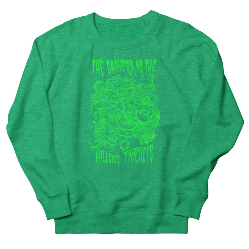 Cthulhu Embrace Women's Sweatshirt by The Darkest of the Hillside Thickets Merchporium