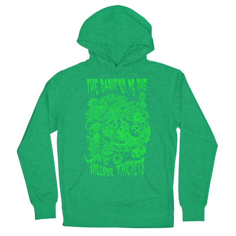 Cthulhu Embrace Women's French Terry Pullover Hoody by The Darkest of the Hillside Thickets Merchporium