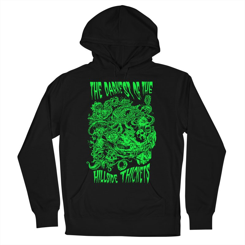 Cthulhu Embrace Men's French Terry Pullover Hoody by The Darkest of the Hillside Thickets Merchporium