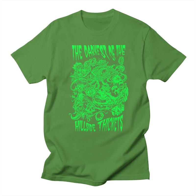 Cthulhu Embrace Women's Regular Unisex T-Shirt by The Darkest of the Hillside Thickets Merchporium