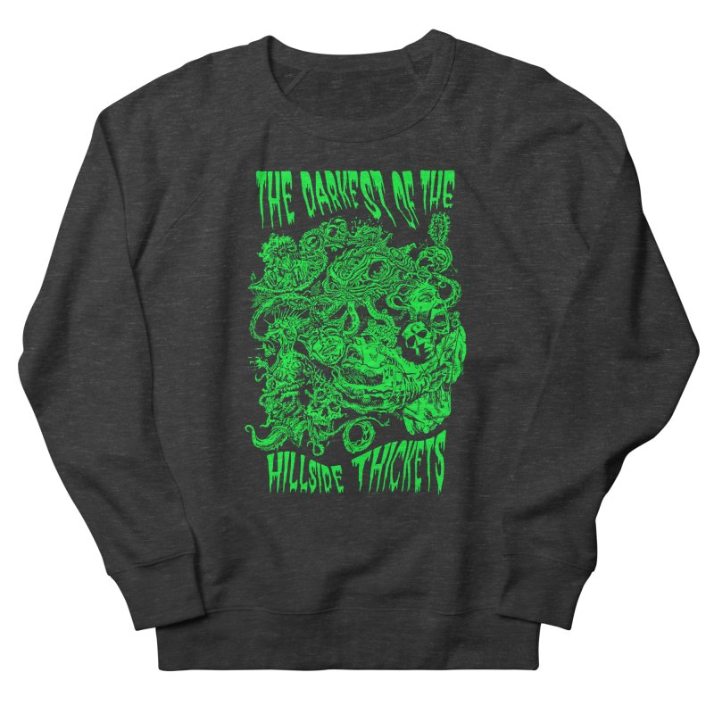 Cthulhu Embrace Men's French Terry Sweatshirt by The Darkest of the Hillside Thickets Merchporium