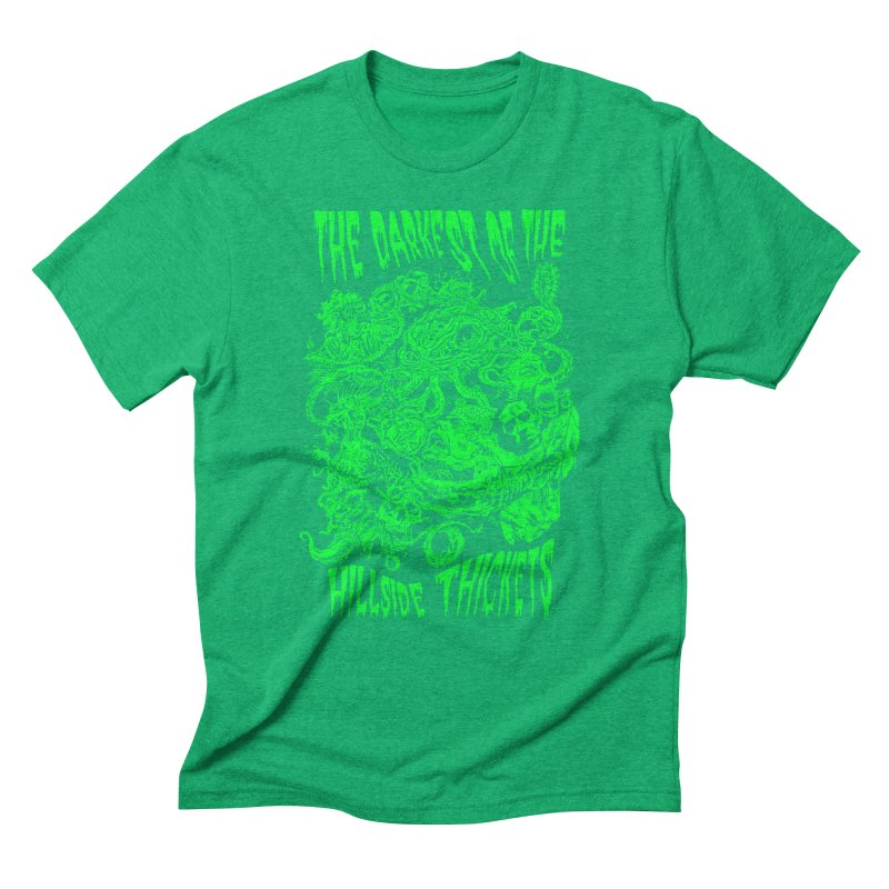 Cthulhu Embrace Men's Triblend T-Shirt by The Darkest of the Hillside Thickets Merchporium
