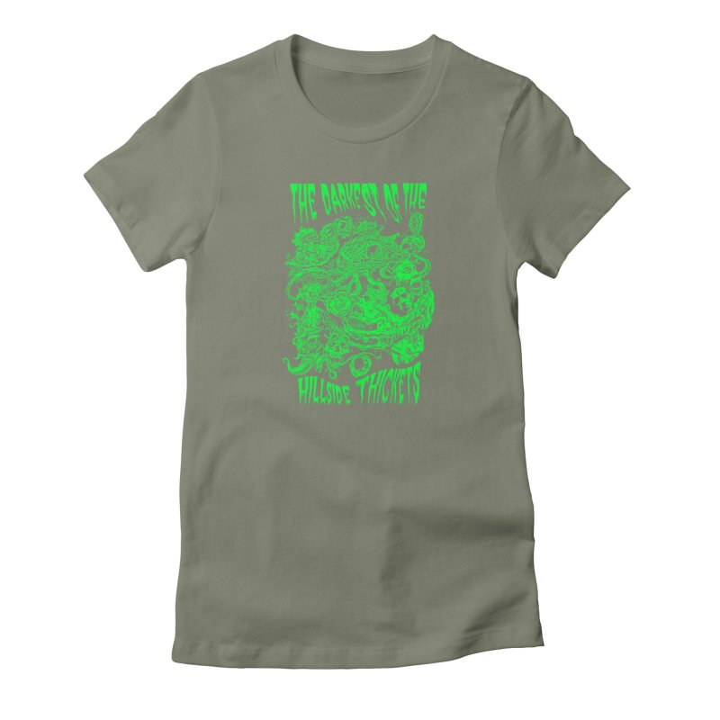Cthulhu Embrace Women's T-Shirt by The Darkest of the Hillside Thickets Merchporium