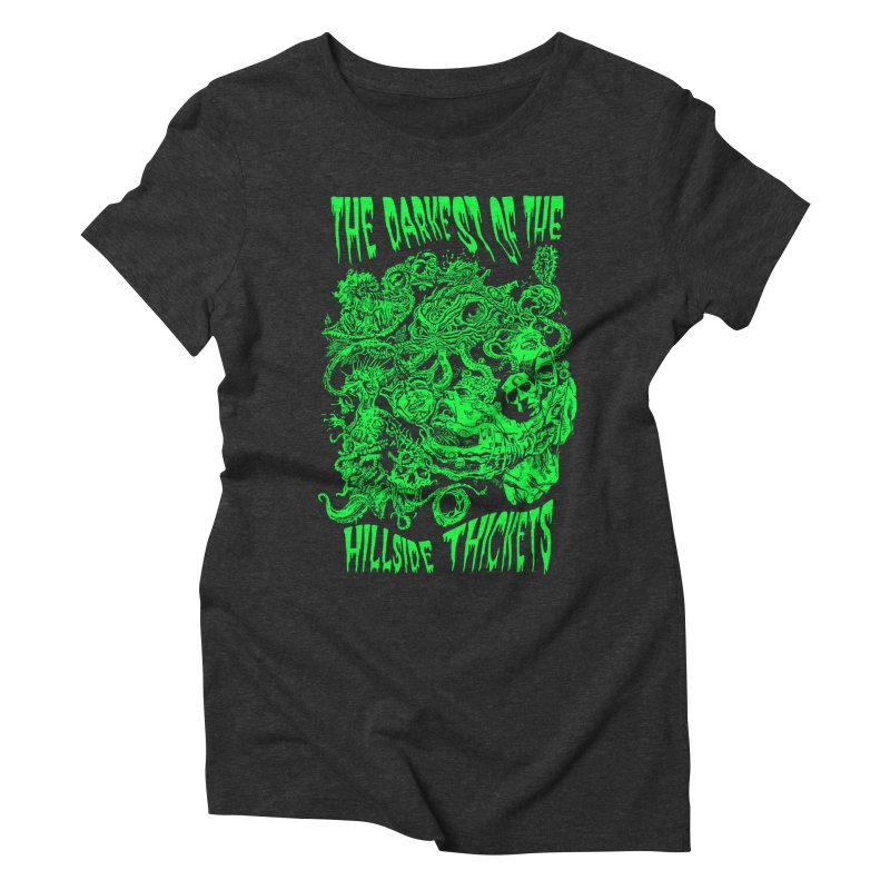 Cthulhu Embrace Women's Triblend T-Shirt by The Darkest of the Hillside Thickets Merchporium