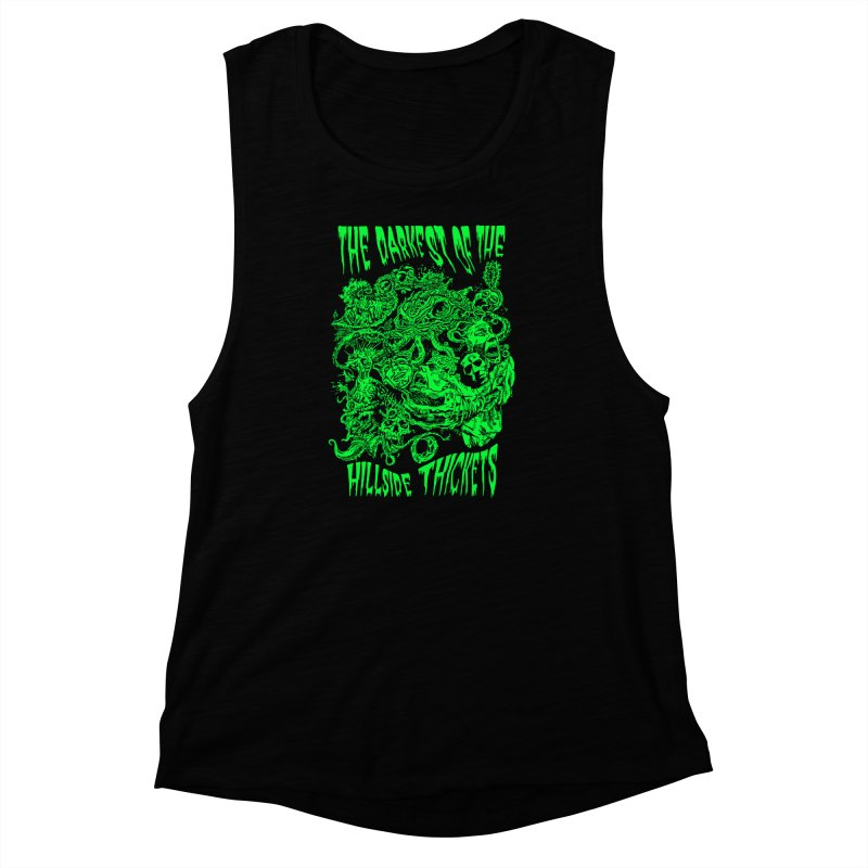 Cthulhu Embrace Women's Muscle Tank by The Darkest of the Hillside Thickets Merchporium
