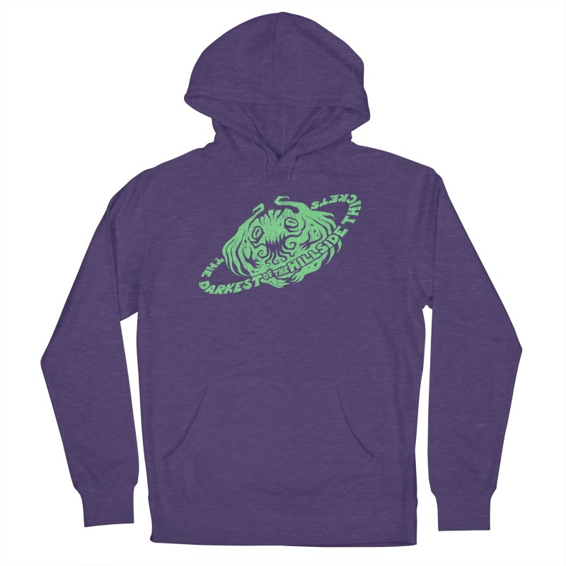 Planet Cthulhu (Distressed) Men's Pullover Hoody by The Darkest of the Hillside Thickets Merchporium