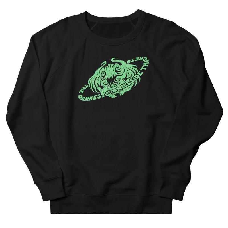 Planet Cthulhu (Distressed) Men's Sweatshirt by The Darkest of the Hillside Thickets Merchporium