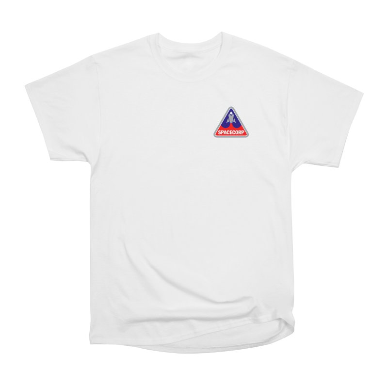 SpaceCorp Logo Men's Heavyweight T-Shirt by The Darkest of the Hillside Thickets Merchporium