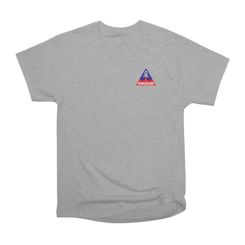SpaceCorp Logo Women's Heavyweight Unisex T-Shirt by The Darkest of the Hillside Thickets Merchporium