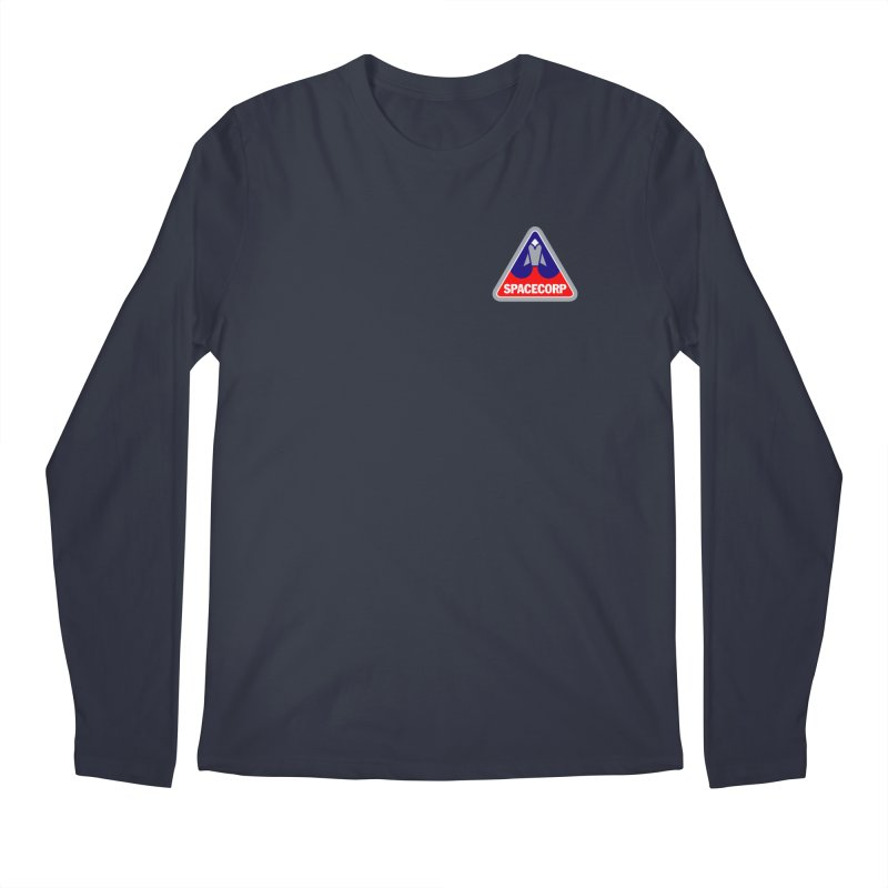 SpaceCorp Logo Men's Longsleeve T-Shirt by The Darkest of the Hillside Thickets Merchporium