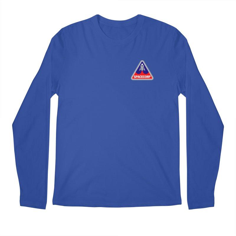 SpaceCorp Logo Men's Regular Longsleeve T-Shirt by The Darkest of the Hillside Thickets Merchporium